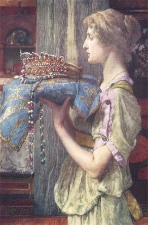 Sir Lawrence Alma-Tadema - A Crown