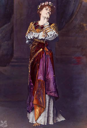 Dame Ellen Terry as Imogen Shakespeare heroine in Cymbeline