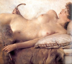 Sir Lawrence Alma-Tadema - In the Tepidarium [detail]