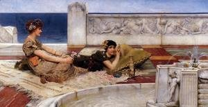 Sir Lawrence Alma-Tadema - Love's Votaries