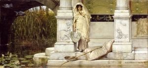 Sir Lawrence Alma-Tadema - Roman Fisher Girl 1873