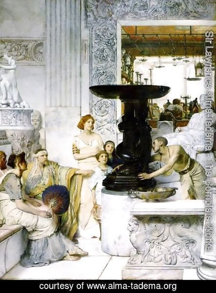 Sir Lawrence Alma-Tadema - The Sculpture Gallery