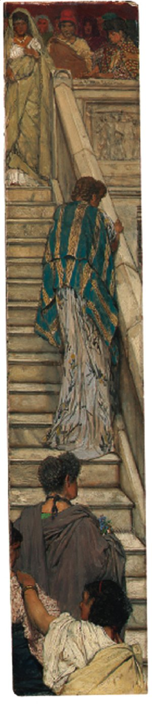 Sir Lawrence Alma-Tadema - The Staircase