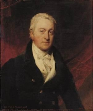 Sir Lawrence Alma-Tadema - Portrait Of Sir Thomas Frankland, 6th Bt., Mp, Frs (1750-1831)
