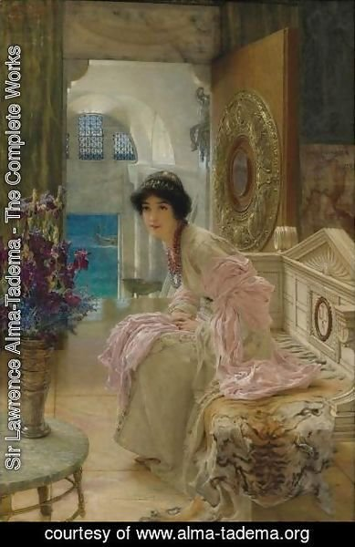 Sir Lawrence Alma-Tadema - Watching And Waiting