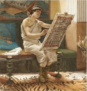 Sir Lawrence Alma-Tadema - A Roman Artist, The Art Of Drawing