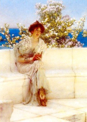 Sir Lawrence Alma-Tadema - The Year s at the Spring. All s Right with the World