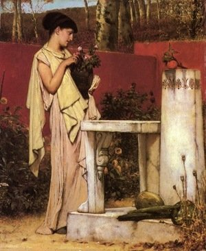 Sir Lawrence Alma-Tadema - The Last Roses
