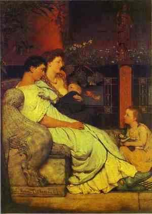Sir Lawrence Alma-Tadema - Roman Family