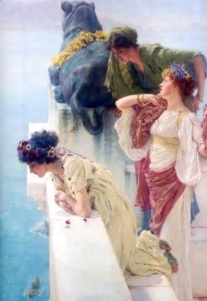 Sir Lawrence Alma-Tadema - A Coign Of Vantage 1895
