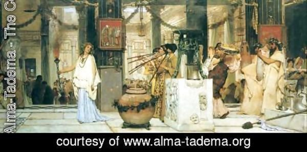 Sir Lawrence Alma-Tadema - The Vintage Festival