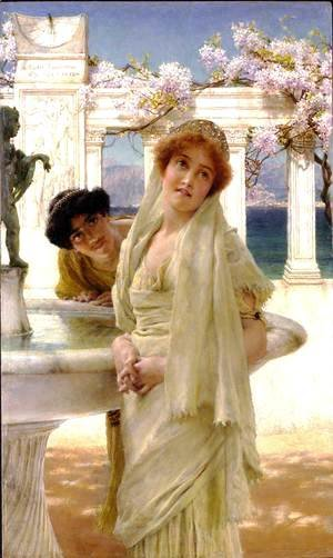 Sir Lawrence Alma-Tadema - A Difference Of Opinion 1896