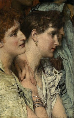 Sir Lawrence Alma-Tadema - An Audience
