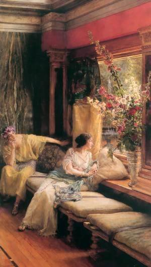 Sir Lawrence Alma-Tadema - Vain Courtship 1900