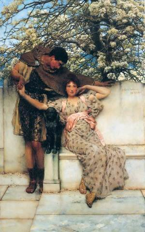 Sir Lawrence Alma-Tadema - Promise Of Spring 1890
