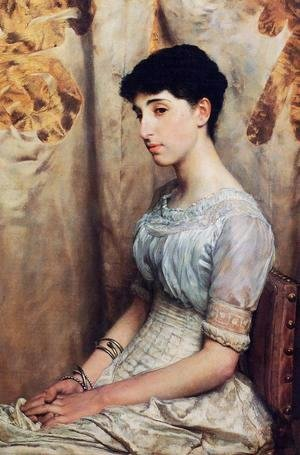 Sir Lawrence Alma-Tadema - Miss Alice Lewis