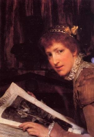 Sir Lawrence Alma-Tadema - Interrupted