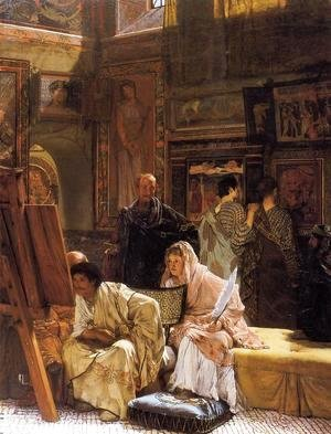 Sir Lawrence Alma-Tadema - The Picture Gallery