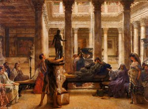 Sir Lawrence Alma-Tadema - A Roman Art Lover