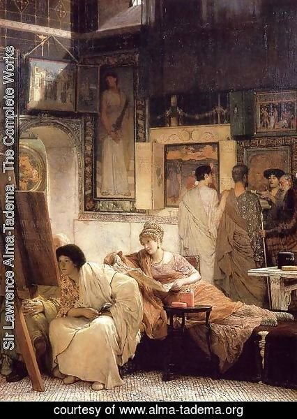 Sir Lawrence Alma-Tadema - A Picture Gallery