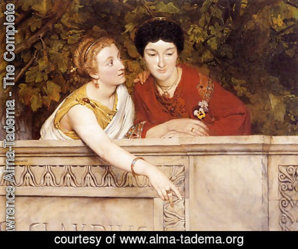 Sir Lawrence Alma-Tadema - Gallo Roman Women