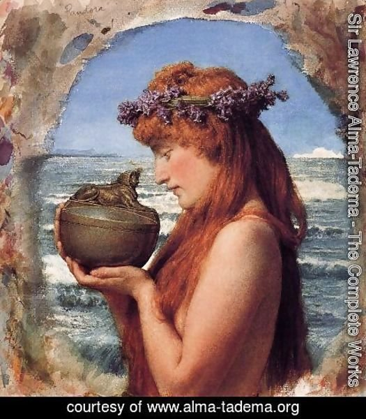Sir Lawrence Alma-Tadema - Pastimes In Ancient Egyupe 3000 Years Ago