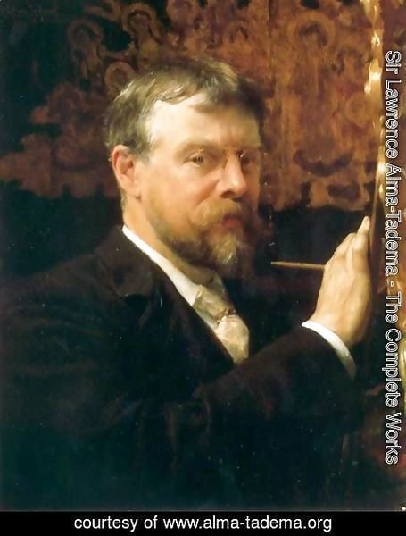 Sir Lawrence Alma-Tadema - Self Portrait
