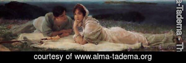 Sir Lawrence Alma-Tadema - A World Of Their Own