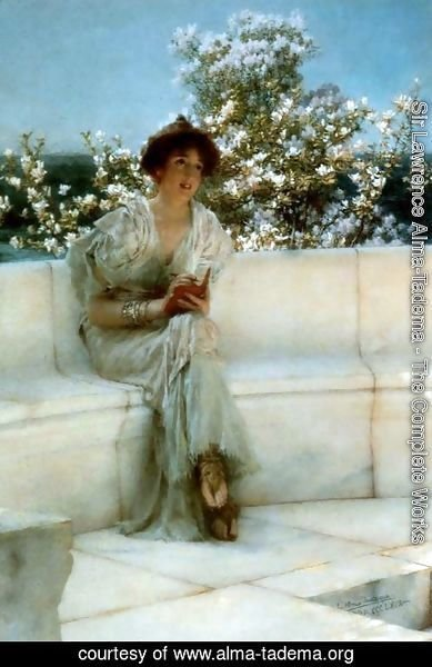 Sir Lawrence Alma-Tadema - The Years At The Spring All Right With The World 1902