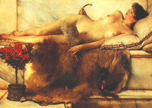 Sir Lawrence Alma-Tadema - Tepidarium (In the Tepidarium)