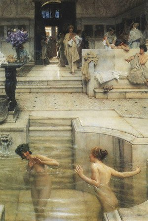 Sir Lawrence Alma-Tadema - Favourite Custom